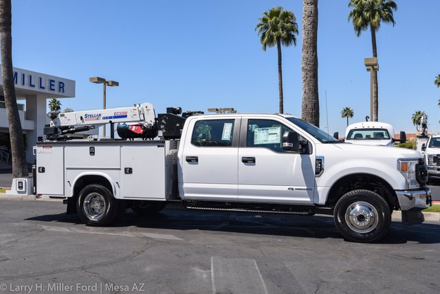 2020 Ford F-350 Crew Cab DRW 4x4, Knapheide Steel Service Body Crane Body #20P113 - photo 21