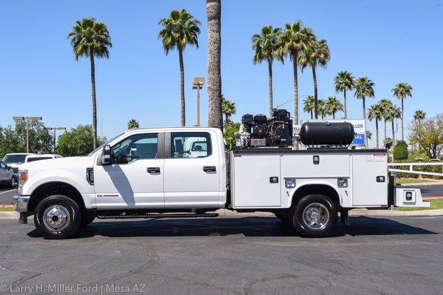 2020 Ford F-350 Crew Cab DRW 4x4, Knapheide Steel Service Body Crane Body #20P113 - photo 5