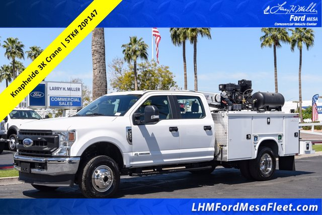2020 Ford F-350 Crew Cab DRW 4x4, Knapheide Steel Service Body Crane Body #20P147 - photo 1