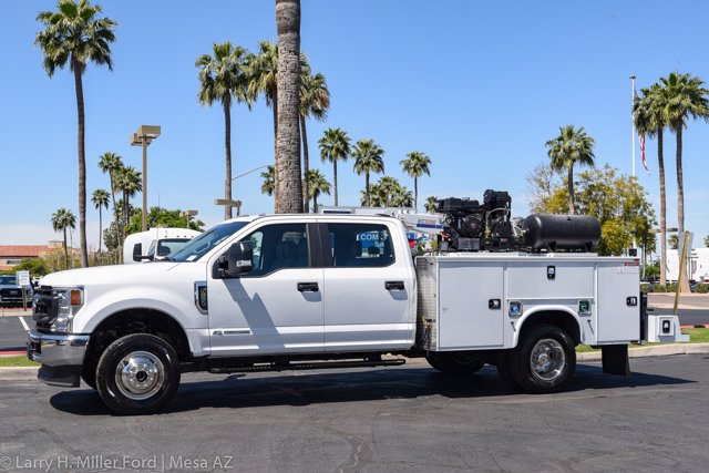 2020 Ford F-350 Crew Cab DRW 4x4, Knapheide Steel Service Body Crane Body #20P147 - photo 3