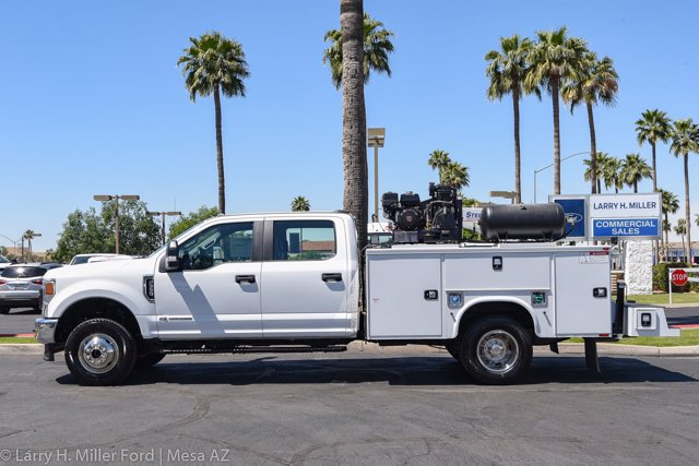 2020 Ford F-350 Crew Cab DRW 4x4, Knapheide Steel Service Body Crane Body #20P147 - photo 5