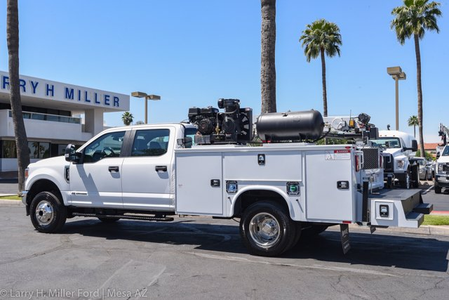 2020 Ford F-350 Crew Cab DRW 4x4, Knapheide Steel Service Body Crane Body #20P147 - photo 9