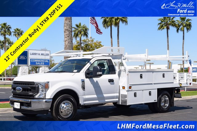 2020 Ford F-350 Regular Cab DRW 4x2, Knapheide Contractor Body #20P151 - photo 1