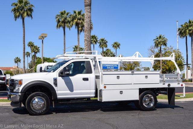 2020 Ford F-450 Regular Cab DRW 4x2, Scelzi CTFB Contractor Body #20P154 - photo 5