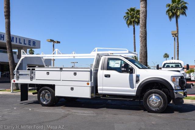 2020 Ford F-450 Regular Cab DRW 4x2, Scelzi CTFB Contractor Body #20P154 - photo 20