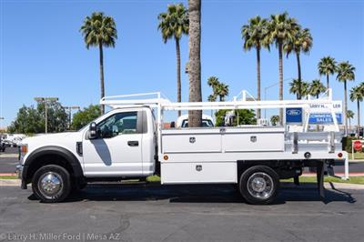 2020 Ford F-450 Regular Cab DRW 4x2, Scelzi CTFB Contractor Body #20P154 - photo 6