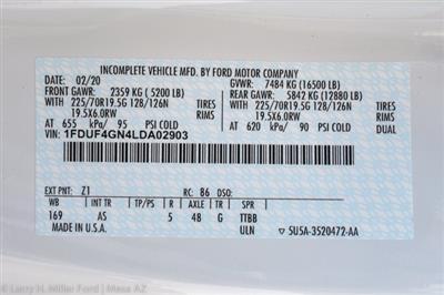 2020 Ford F-450 Regular Cab DRW 4x2, Scelzi CTFB Contractor Body #20P154 - photo 35