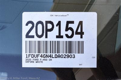 2020 Ford F-450 Regular Cab DRW 4x2, Scelzi CTFB Contractor Body #20P154 - photo 36