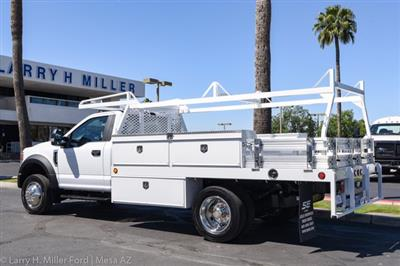 2020 Ford F-450 Regular Cab DRW 4x2, Scelzi CTFB Contractor Body #20P154 - photo 2