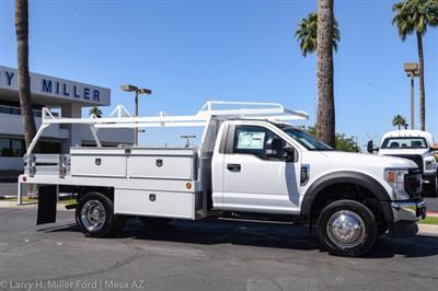 2020 Ford F-450 Regular Cab DRW 4x2, Scelzi CTFB Contractor Body #20P158 - photo 17