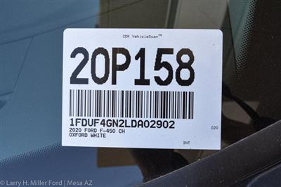 2020 Ford F-450 Regular Cab DRW 4x2, Scelzi CTFB Contractor Body #20P158 - photo 34