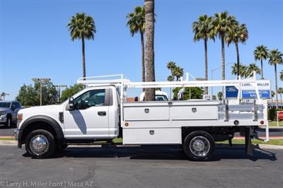 2020 Ford F-450 Regular Cab DRW 4x2, Scelzi CTFB Contractor Body #20P158 - photo 5