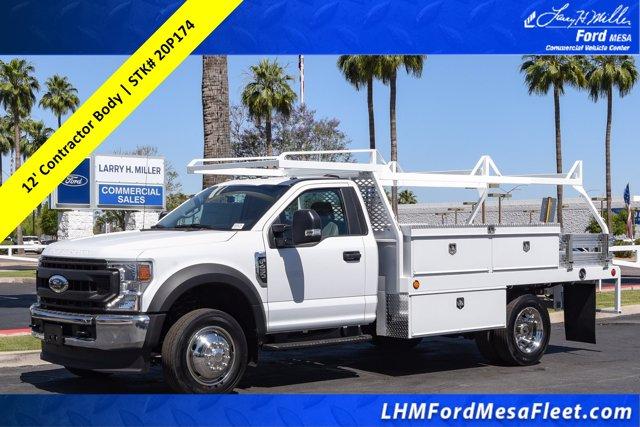 2020 Ford F-450 Regular Cab DRW RWD, Scelzi Contractor Body #20P174 - photo 1