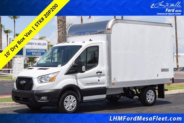 2020 Ford Transit 350 RWD, Marathon Cutaway Van #20P200 - photo 1
