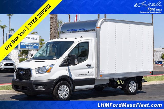 2020 Ford Transit 350 RWD, Marathon Cutaway Van #20P202 - photo 1