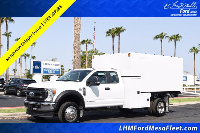 2020 Ford F-550 Super Cab DRW 4x2, Knapheide Chipper Body #20P288 - photo 1