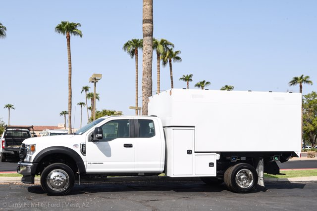 2020 Ford F-550 Super Cab DRW 4x2, Knapheide Standard Forestry Chipper Body #20P288 - photo 3
