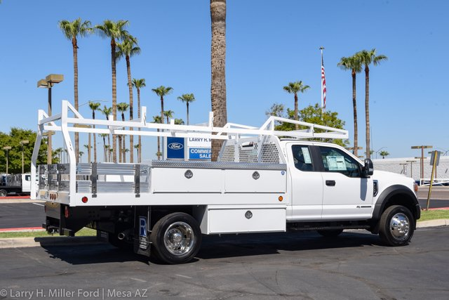 2020 Ford F-550 Super Cab DRW 4x2, Royal Contractor Body #20P294 - photo 11