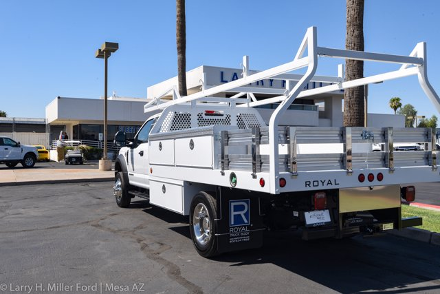 2020 Ford F-550 Super Cab DRW 4x2, Royal Contractor Body #20P294 - photo 7