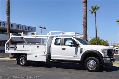 2020 Ford F-550 Super Cab DRW 4x2, Royal Contractor Body #20P294 - photo 17