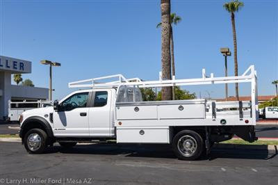 2020 Ford F-550 Super Cab DRW 4x2, Royal Contractor Body #20P294 - photo 4