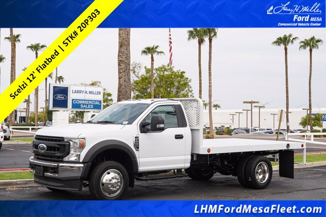 2020 Ford F-450 Regular Cab DRW RWD, Scelzi Platform Body #20P303 - photo 1