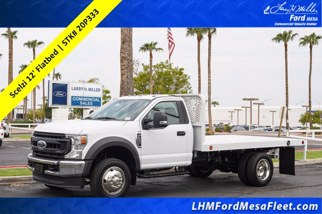 2020 Ford F-450 Regular Cab DRW RWD, Scelzi Platform Body #20P333 - photo 1