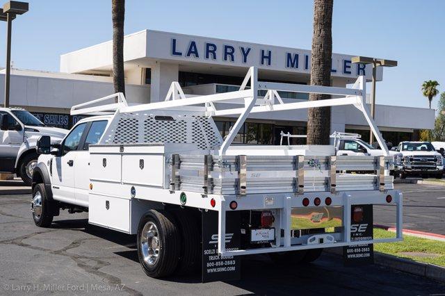 2020 Ford F-450 Crew Cab DRW 4x4, Scelzi Contractor Body #20P335 - photo 1