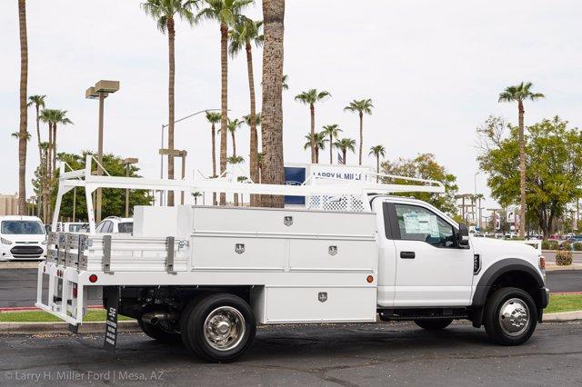 2020 Ford F-450 Regular Cab DRW 4x2, Scelzi SCTFB Contractor Body #20P337 - photo 11
