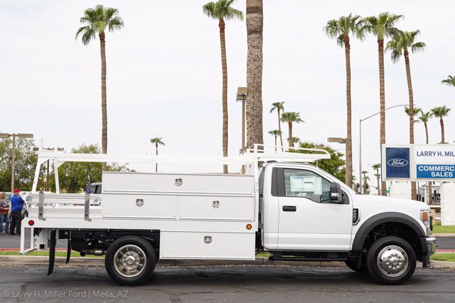 2020 Ford F-450 Regular Cab DRW 4x2, Scelzi SCTFB Contractor Body #20P337 - photo 12