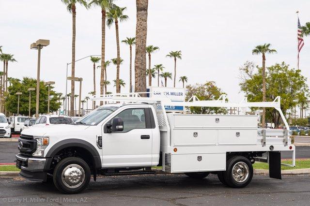 2020 Ford F-450 Regular Cab DRW 4x2, Scelzi SCTFB Contractor Body #20P337 - photo 3