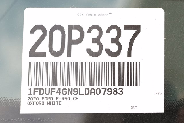 2020 Ford F-450 Regular Cab DRW 4x2, Scelzi SCTFB Contractor Body #20P337 - photo 26