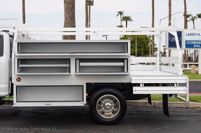 2020 Ford F-450 Regular Cab DRW 4x2, Scelzi SCTFB Contractor Body #20P337 - photo 7