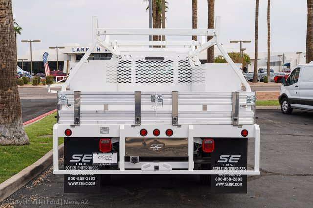 2020 Ford F-450 Regular Cab DRW 4x2, Scelzi SCTFB Contractor Body #20P337 - photo 8