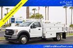 2020 Ford F-450 Regular Cab DRW 4x2, Scelzi SCTFB Contractor Body #20P337 - photo 1