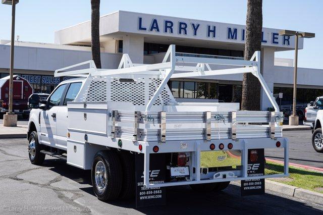 2020 Ford F-350 Crew Cab DRW 4x4, Scelzi Contractor Body #20P372 - photo 1