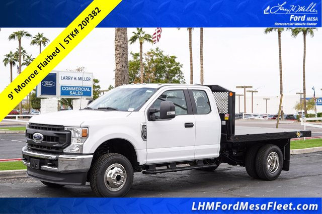 2020 Ford F-350 Super Cab DRW 4x4, Monroe Work-A-Hauler II Platform Body #20P382 - photo 1
