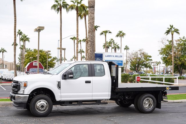 2020 Ford F-350 Super Cab DRW 4x4, Monroe Work-A-Hauler II Platform Body #20P382 - photo 3