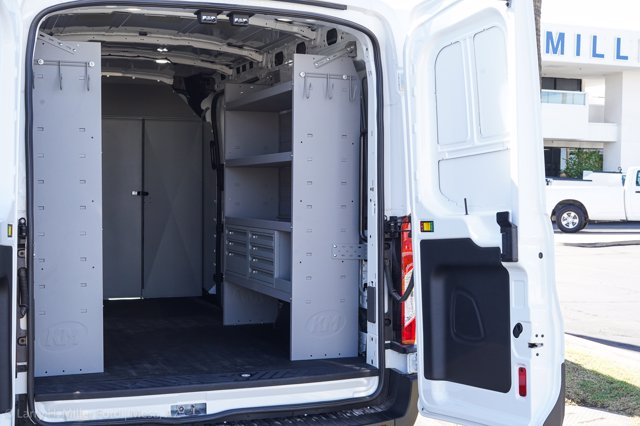 2020 Ford Transit 250 Med Roof AWD, Kargo Master Upfitted Cargo Van #20P395 - photo 1