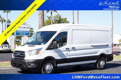 2020 Ford Transit 250 Med Roof AWD, Kargo Master General Service Upfitted Cargo Van #20P395 - photo 1