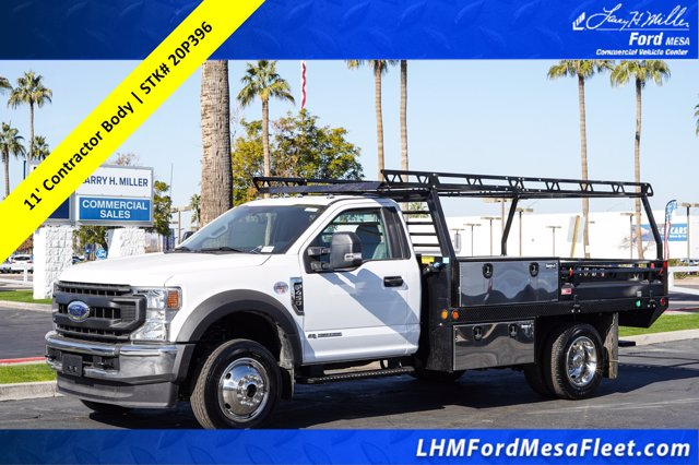 2020 Ford F-450 Regular Cab DRW 4x4, Freedom Contractor Body #20P396 - photo 1