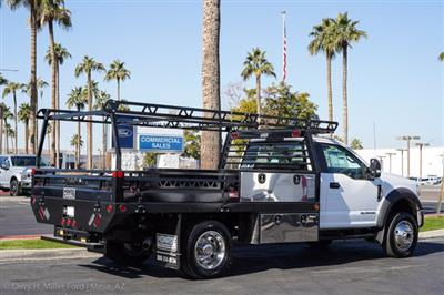 2020 Ford F-450 Regular Cab DRW 4x4, Freedom Contractor Body #20P396 - photo 11