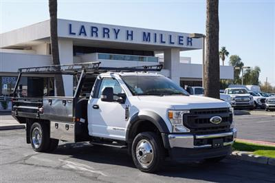 2020 Ford F-450 Regular Cab DRW 4x4, Freedom Contractor Body #20P396 - photo 15