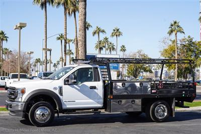 2020 Ford F-450 Regular Cab DRW 4x4, Freedom Contractor Body #20P396 - photo 4