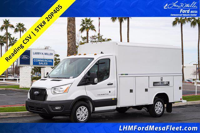 2020 Ford Transit 350 4x2, Reading Service Utility Van #20P405 - photo 1
