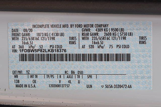 2020 Ford Transit 350 4x2, Reading Aluminum CSV Service Utility Van #20P405 - photo 29