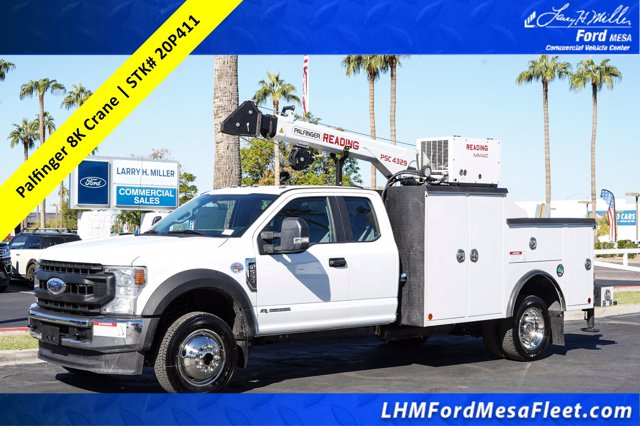 2020 Ford F-550 Super Cab DRW 4x4, Reading Mechanics Body #20P411 - photo 1