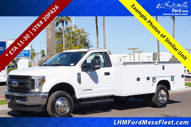 2020 Ford F-350 Regular Cab DRW 4x4, Knapheide Steel Service Body #20P424 - photo 1