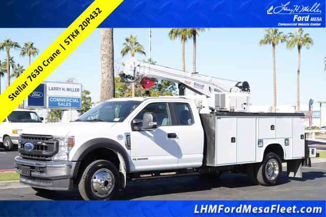 2020 Ford F-550 Super Cab DRW 4x4, Knapheide KMT Mechanics Body #20P432 - photo 1