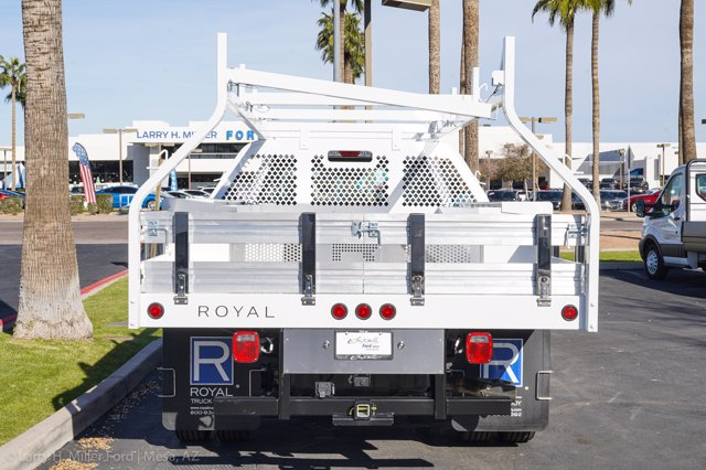 2020 Ford F-450 Super Cab DRW 4x2, Royal Contractor Body #20P442 - photo 8